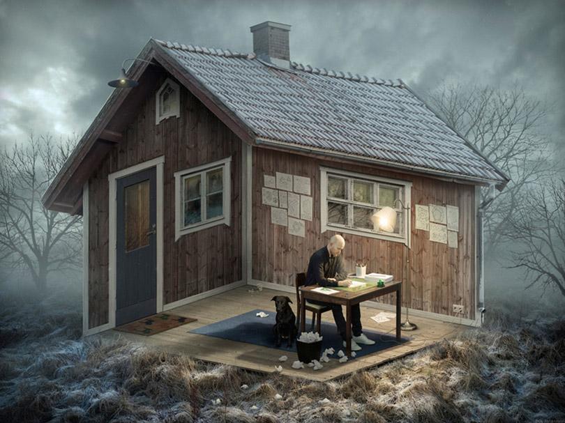 Arte Surreal com Fotografia de Erik Johansson