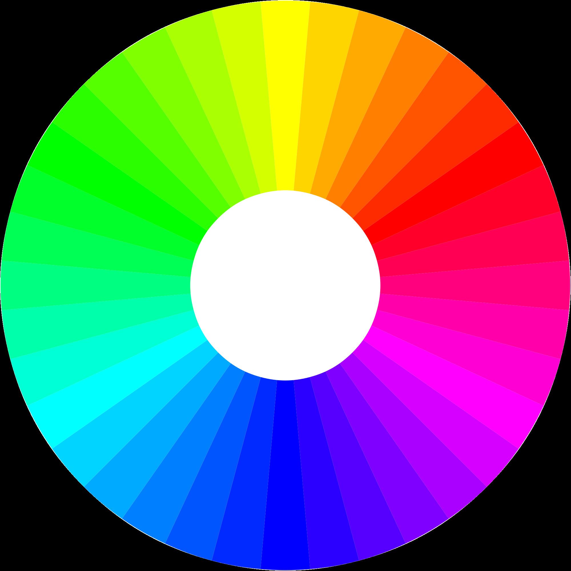 Padrão de cores RGB