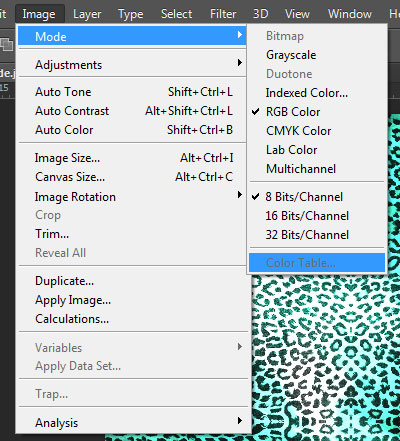 how to set rgb to cmyk in photoshop