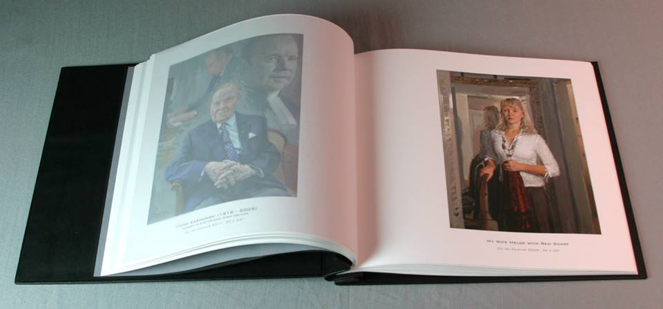 Painted-portraits-as-inkjet-prints-in-Hahnemühle-FineArt-album